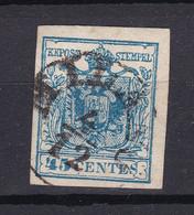 Österreich - Lombardei Und Venetien - 1850/57 - Michel Nr. 5 - Gestempelt - 25 Euro - Lombardije-Venetië