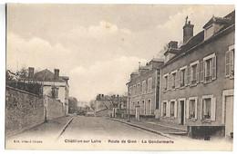 CHATILLON SUR LOIRE - Route De Gien - La Gendarmerie - Chatillon Sur Loire