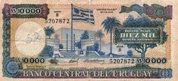 URUGUAY 10000 NUEVOS PESOS 1987 P-67 - Uruguay