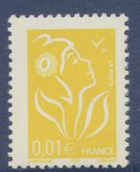 N° 3731c Marianne De Lamouche Valeur Faciale 0,01 € Sans Phosphore - 2004-08 Marianne Van Lamouche