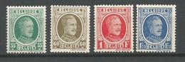 Timbre Belgique En Neuf ** N 254 / 257 - 1922-1927 Houyoux