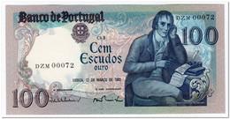 PORTUGAL,100 ESCUDOS,1985,P.178d,LOW SERIAL 00072,UNC - Portugal