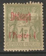 French Offices Dedeagh 1893 Sc 7 Yt 8 MH* - Neufs