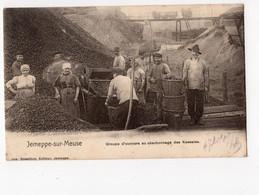 J3 - JEMEPPE - SUR - MEUSE  -  Groupe D'ouvriers Au Charbonnage Des Kessales - Seraing