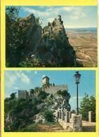 SAN MARINO - LOTTO DI 10 CARTOLINE GRANDE FORMATO - CM. 13 X 19,50 - San Marino