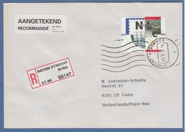 Niederlande ATM Mi.-Nr. 2.1 Typ FRAMA Wert 1100 Auf R-FDC, O UTRECHT-ATOOMWEG - Zonder Classificatie