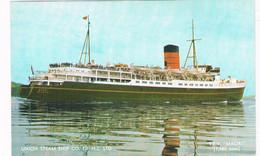 SCH-1139   M.S. MAORI  ( Wellington - Lyttelton ) - Ferries