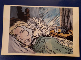 SUZAN PITT MOMIE TELEPHONE REVEIL 1984 - Paintings