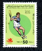 1992- LIBYA - Olympics Olympic Games Barcelona Spain- Tennis - MNH** - Libië