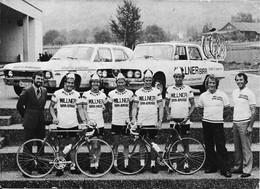 CARTE CYCLISME GROUPE TEAM WILLNER 1974 - Radsport