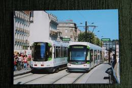 CART EN TRAM 2006 DR Sur La Ligne 1 Du Tramway De NANTES - Tranvía