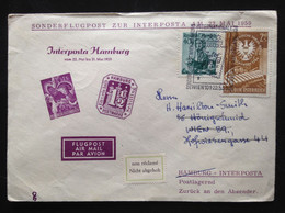 Austria, Circulated Cover To Germany, « INTERPOSTA », Hamburg, 1959 - Aéreo