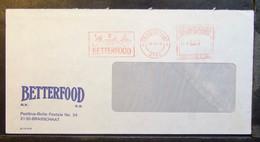 Belgium - Advertising Meter Franking Cover EMA 1978 Brasschaat Betterfood Baby Food Industry - 1960-79