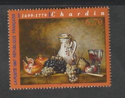 TIMBRE - 1998  -   N° 3105 -   Série Artistique , Raisins Et Grenade , Œuvre De Chardin    -   Neuf Sans Charnière - Unused Stamps