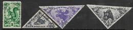 Tannu Tuva   1935   Sc#62, 66-7, 70  Used  2016 Scott Value $5.15 - Tuva