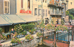 """.CPSM FRANCE 74 """" Annecy, Auberge Du Lyonnais"""" - Annecy"""