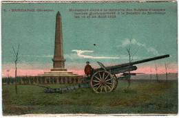 41lk 921 CPA - MORHANGE - MONUMENT ELEVE A M\LA MEMOIRE DES SOLDATS FRANCAISE - Morhange