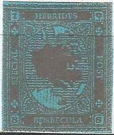 SCOTLAND - HEBRIDES SPECIAL POST, BENBECULA - Map - Imperf Single Stamp - Mint Never Hinged No Gum - Local Cinderella - Cinderelas