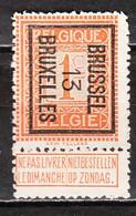 PRE37B  Lion Debout - Brussel 13 Bruxelles - Bonne Valeur - MNG - LOOK!!!! - Typos 1912-14 (Lion)