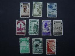 LOT De 10 X TIMBRE POSTE Ancien Neuf : ESPAGNE - ESPANA / MARRUECOS - MAROC ESPAGNOL Vers 1940 - 1950 - Spanish Morocco