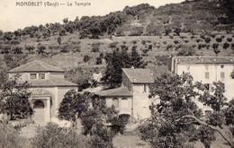30. GARD/ / MONOBLET.LE  TEMPLE - Andere Gemeenten