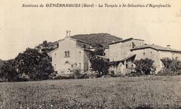 30. GARD/ / SAINT SEBASTIEN D AIGREFEUILLE// ENVIRONS DE GENERARGUES // LE TEMPLE - Andere Gemeenten