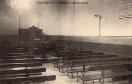 30. GARD/ / CAVEIRAC . INTERIEUR DE LA CHAPELLE METHODISTE . - Andere Gemeenten