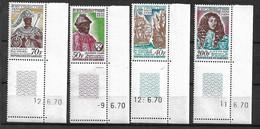 Dahomey   N° 291 à 294 Datés Roi D'Ardrès à Paris  Neufs *   *    B/TB  = MNH F/VF  Soldé   Le Moins Cher Du Site ! ! ! - Benin – Dahomey (1960-...)