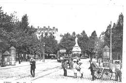 69  - CARTE  POSTALE  De   LYON  En  1900  - Place  MORAND - Ohne Zuordnung