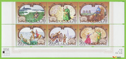Voyo POLAND 1999 Mi#3755-3760  ** MINT MNH Characters From Works By Henryk Sienkiewicz - Unused Stamps