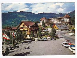 Vaud Villars Palace Hôtel De L'Alpe Fleurie N°9692 En 1978 Peugeot 403 404 Mercedes Opel BUS Ford Taunus VOIR Flamme - VD Vaud