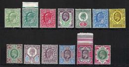 GRANDE BRETAGNE 1902-10: Les Y&T 106-117 Neufs** Et Neufs*, Forte Cote - Unused Stamps