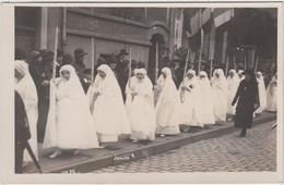 MEURTHE Et MOSELLE - Carte Photo De P.VALCK à NANCY - Cortége De Communiantes Début 1900 - Non Classés