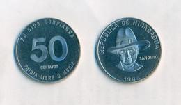 Nicaragua - 50 Centavos 1985. UNC. RARE. - Nicaragua
