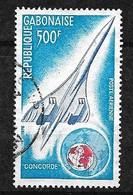 Gabon   Poste Aérienne  N° 172  Concorde  Oblitéré   B/TB              Soldé     Le Moins Cher Du Site ! - Concorde