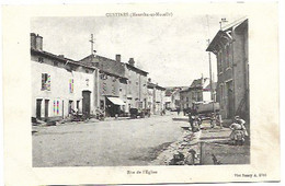 54 Custines - Rue De L'église - Otros Municipios