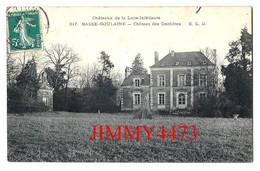 CPA - BASSE-GOULAINE 44 Loire Inf. - Le Château Des Onchères - N° 317 - Edit. E. L. D. - Kastelen