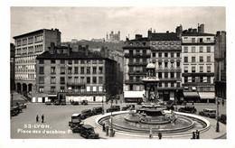 N° 4630 Z -cpsm Lyon -place Des Jardins- - Otros