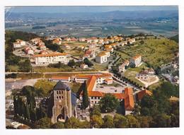 46 Puy L'Evêque Vers Cahors L'Eglise Et Les Cités Calvignac En 1976 Terrain De Basket VOIR DOS Et Flamme - Cahors