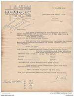 26 ROMANS Sur ISERE COURRIER 1949 CUIRS Et PEAUX LOUIS ACHARD & Cie   / R21 - 1900 – 1949