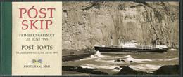 Island Iceland Booklet Mi# 8 Postfrisch MNH - Mail Transport Ships - Carnets