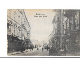Tarnopol - Ulica 3-go Maja - édit. B. Krell  + Verso - Ukraine