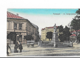 Tarnopol - Ul. Swietojanska - édit.   + Verso - Ukraine