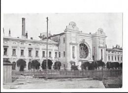 Tarnopol Dworzec Kolejowy - Bahnhof - Gare - édit. W. Laub  + Verso - Ukraine
