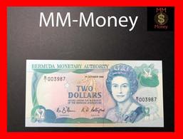 BERMUDA  2 $  1.10.1988   P. 34   UNC - Bermudas