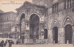 SIENA - PIAZZA DEL CAMPO - CAPPELLA DEL PALAZZO COMUNALE - ANIMATA - Siena