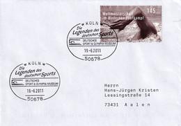 Germany 2011 Cover: Modern Pentathlon; Swimming; Swimmen; World Championship; Legends Og German Sport Museum - Zonder Classificatie