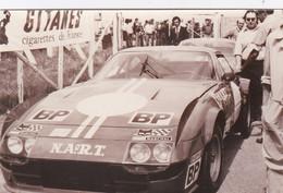 Photo Automobile 24 Heures Du Mans 74 Ferrari 365 GT 6/4 Pilote  Dave Heinz / Alain Cadini 2652 B - Coches