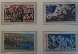 Monaco 1986 / Yvert N°1540 + 1547-1548 + 1556 / ** - Ongebruikt