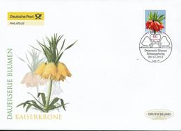 2013 Deutschland Germany. Mi. 3043 FDC  Blumen:Kaiserkrone (Fritillaria Imperialis) - FDC: Enveloppes